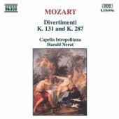 Divertimenti K. 131 & K. 287 by Capella Istropolitana