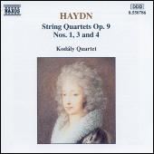 String Quartets Op. 9, Nos. 1, 3 and 4 (unpublished) by Franz Joseph Haydn