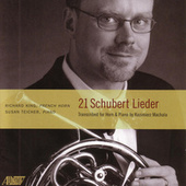 21 Schubert Lieder by Richard King
