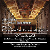 Saint-Saëns: Le Carnaval des animaux / Poulenc: Concerto for Two Pianos and Orchestra by Lena Vozheiko-Wheaton