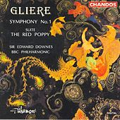 GLIERE: Symphony No. 1 / The Red Poppy: Suite by Edward Downes