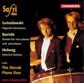 LUTOSLAWSKI: Paganini Variations / HELWEG: America Fantasy by Safri Duo