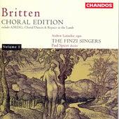 BRITTEN: Choral Works by Andrew Lumsden