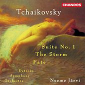 TCHAIKOVSKY: Suite No. 1, Op. 43 / The Storm (Groza), Op. 76 / Fate (Fatum), Op. 77 by Neeme Jarvi
