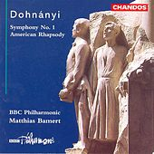 DOHNANYI: Symphony No. 1 / American Rhapsody by Various Artists