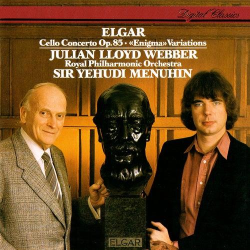 Elgar: Cello Concerto; Enigma Variations von Yehudi Menuhin