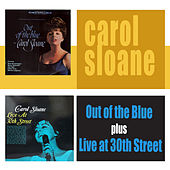 Out of the Blue + Live at 30th Street by Carol Sloane