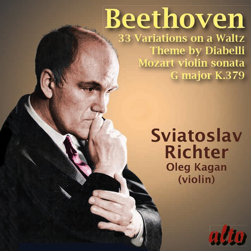Beethoven: 33 Variations on a Waltz by Sviatoslav Richter