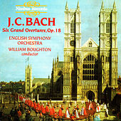 J.C. Bach: Six Gran Overtures by English Symphony Orchestra
