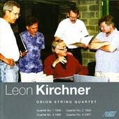 Leon Kirchner - Complete String Quartets by Orion String Quartet