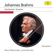 Johannes Brahms: Symphonien & Konzerte (Live) von Leonard Bernstein