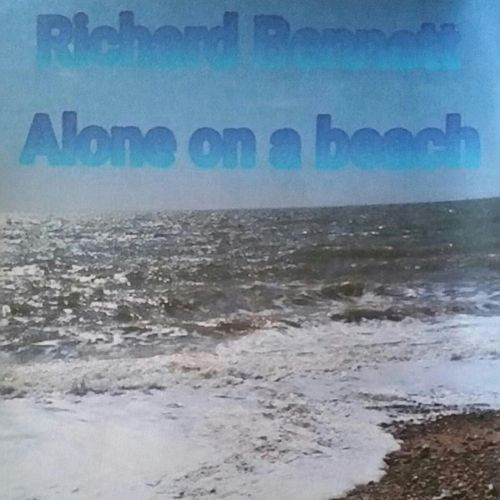 Alone on a Beach by Richard Bennett
