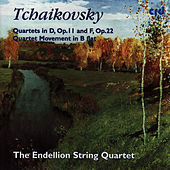 Tchaikovsky: Quartets In D, Op.11 And F, Op.22 / Quartet Movement In Be Flat by Endellion String Quartet