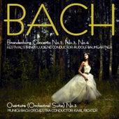 Bach: Brandenburg Concertos, No. 2, No. 3 & No. 4 & Overture (Suite) No. 3 by Festival Strings Lucerne
