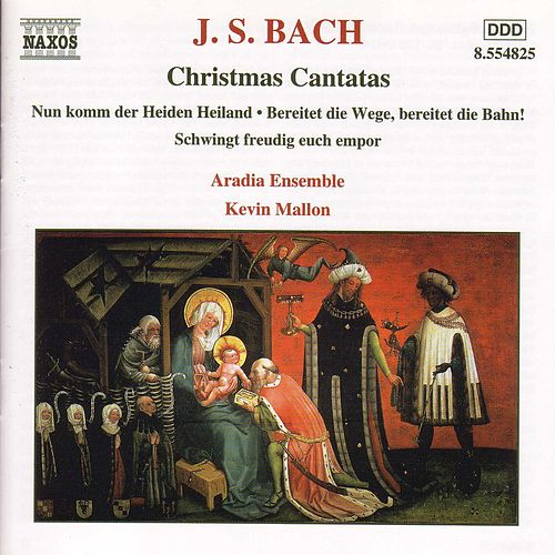 Christmas Cantatas Nos. 36, 132 and 61 by Johann Sebastian Bach