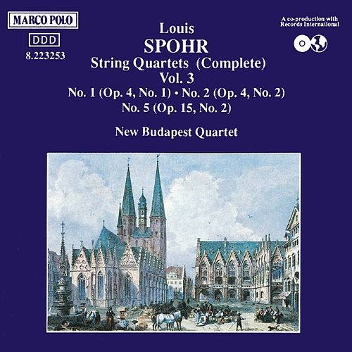 String Quartets Vol. 3 by Louis Spohr