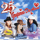 25 Gruperas De Amor by Various Artists