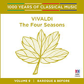 Vivaldi: The Four Seasons (1000 Years of Classical Music, vol.9) by Elizabeth Wallfisch