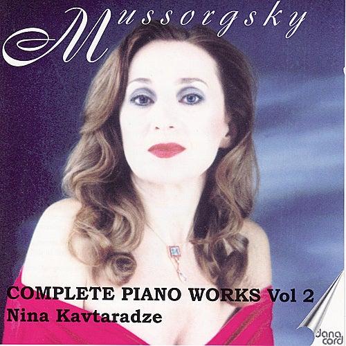 Mussorgsky: Piano Music Vol. 2 by Nina Kavtaradze