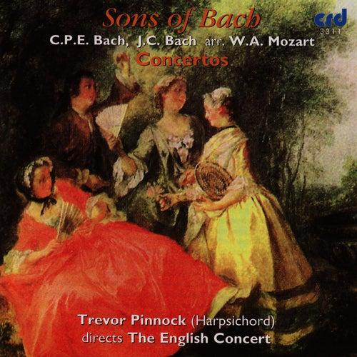 C.P.E. Bach, J.C. Bach: Sons of Bach Concertos by Trevor Pinnock