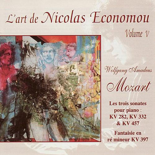 Mozart : L'art de Nicolas Economou, volume 5 by Nicolas Economou