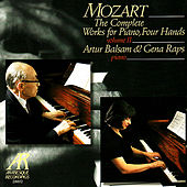 Mozart: Sonata in D Major K.381, Sonata in C Major K.521, Fantasy in F Minor K.608, Andante with Five Variations in G Major K.50 by Artur Balsam