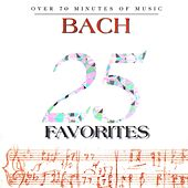 25 Bach Favorites by Various Artists