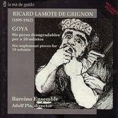 Lamote de Grignon: Six unpleasant pieces for 10 soloists by Barcino Ensemble