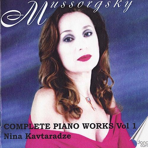 Mussorgsky: Piano Music Vol. 1 by Nina Kavtaradze