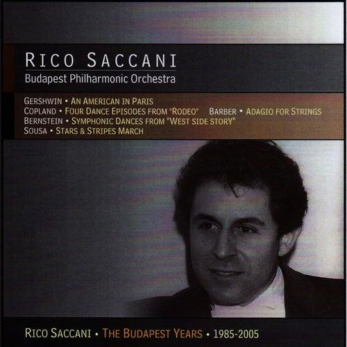 Gershwin, Copland, Barber, Berstein & Sousa by Rico Saccani