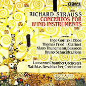Richard Strauss/ Concertos For Wind Instruments by Bruno Schneider