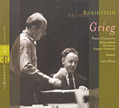 Rubinstein Collection, Vol. 13: Grieg: Piano Concerto, Ballade & Lyric Pieces by Arthur Rubinstein