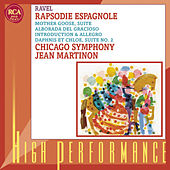 Rapsodie espagnole; Daphnis et Chloé: Suite No. 2; Others by Jean Martinon