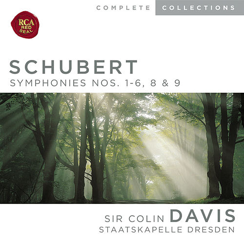 Schubert: Symphonies Nos. 1-6, 8 & 9 by Sir Colin Davis