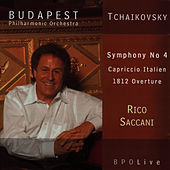 Tchaikovsky Symphony No 4, Capriccio Italien, 1812 Overture by Budapest Philharmonic Orchestra