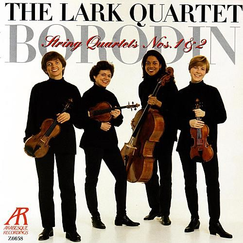 Borodin: String Quartets Nos. 1 & 2 by The Lark Quartet