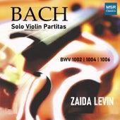J.S. Bach: Solo Violin Partitas BWV 1002, 1004, 1006 by Zaida Levin
