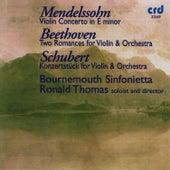 Mendelssohn / Beethoven / Schubert by The Bournemouth Sinfonietta
