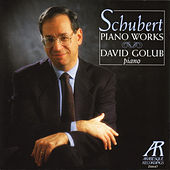 Schubert Piano Works by David Golub