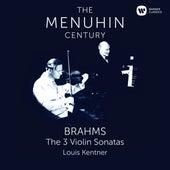 Brahms: Violin Sonatas Nos 1 - 3 by Yehudi Menuhin