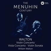 Walton: Violin Concerto, Viola Concerto & Violin Sonata by Yehudi Menuhin