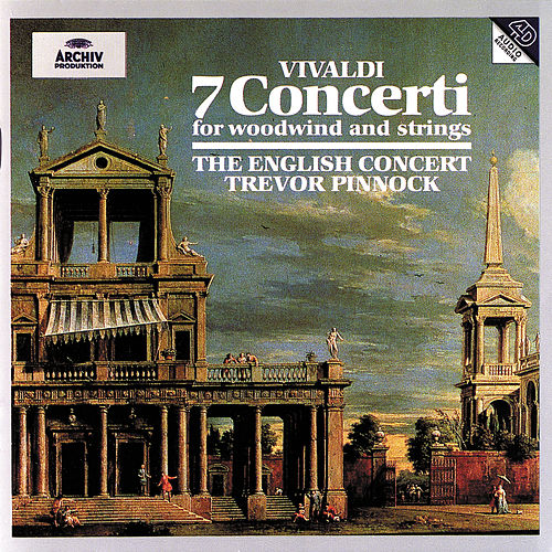 Vivaldi: 7 Concerti for woodwind and strings von Trevor Pinnock