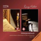 Hintergrundmusik, Vol. 7 & 8 - Gemafreie Musik zur Beschallung von Hotels und Restaurants - Doppel Album (Klaviermusik & Klassik) by Ronny Matthes