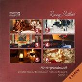 Hintergrundmusik: Vol. 1-6 (6 Alben) - Gemafreie Musik zur Beschallung von Hotels und Restaurants [inkl. Klaviermusik zum Entspannen und Träumen] by Ronny Matthes