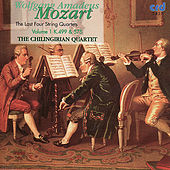 Mozart: The Last Four String Quartets, Volume 1 K.499 & 575 by Chilingirian Quartet
