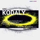 Kodály: Duo pour Violon et Violoncelle, Sonate pour violoncelle, Capriccio by Alexandre Brussilovsky