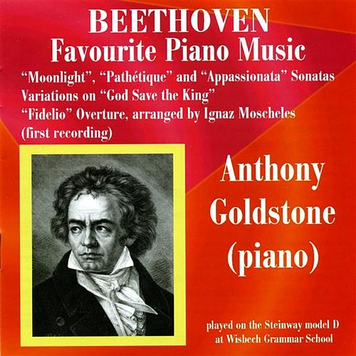 Beethoven Favourite Piano Music by Anthony Goldstone