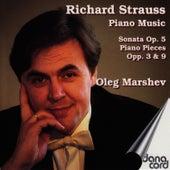 Richard Strauss: Piano Music by Oleg Marshev