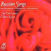 Russian Songs - Rachmaninoff, Mussorgsky, Tchaikovsky by Jan DeGaetani