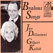 Brahms Songs by Jan De Gaetani/Gilbert Kalish